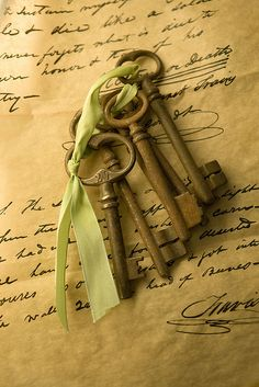 Old keys - skeleton keys