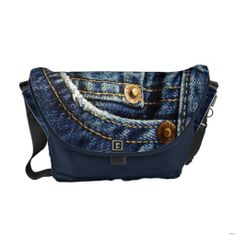 Shop Realistic Jeans Pocket Messenger Bag created by ShabzDesigns. Pack Your Bags, My Bags, Purses And Bags, Mint Bag, Jeans Pocket, Denim Ideas, Beautiful Bags, Fashion Bags, Messenger Bag
