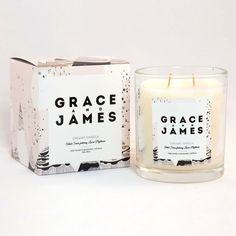 Creamy Vanilla Candle - Grace and James
