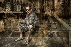 """""""BKK Series"""" is a fine art photography project by Riccardo Magherini.  """"I made…"""