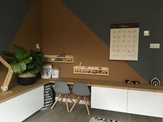 Kids Corner, Corner Desk, Scandinavian Style, Natural Interior, Sweet Home, Living Room, Inspiration, Furniture, Design