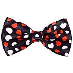 Valentines Day Ties Mens Red Valentines Heart Necktie by Three Rooker