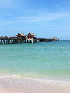 Beautiful aqua clear blue water of the Gulf of Mexico! Naples Pier, Naples Florida, Movin On, Gulf Of Mexico, Sunsets, Aqua, Sky, Water, Beautiful