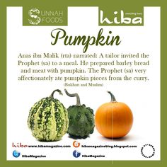 Prophet Muhammad (sa) loved pumpkin, for its benefits against digestive, lung and colon issues :) Halal Recipes, Easy Salad Recipes, Islam And Science, Islam Muslim, Islam Quran, Learn Islam, Health Remedies, Healthy Tips, Islamic Quotes