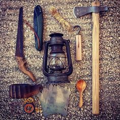 What would you add to this kit if you had to do 30 days ? Bushcraft Gear, Off The Grid, Survival Prepping, Camping Gear, Kit, Instagram Posts, Tools, Camping Products, Camping Supplies