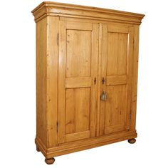 pine armoire from a unique collection of antique and modern wardrobes and armoires at http antique english pine armoire