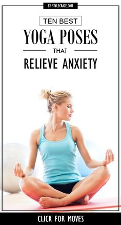 Anxiety – a precursor to stress! Indeed! Every moment of our life is filled with countless, unexpected moments. #yoga #yogaposes