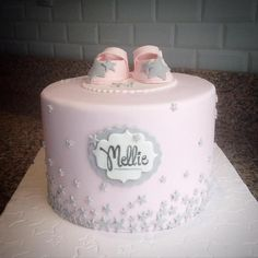 Baby shower cake -  Gâteau baby shower - Une affaire de desserts Marseille