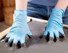 How to: Concrete Countertops