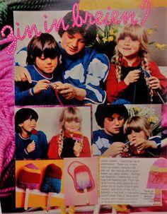 Digitale Bibliotheek: 29sept17 Learn kids knitting in the 70th's