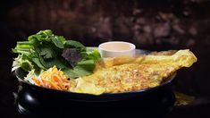 Kim and Suong's Banh Xeo Vietnamese Pancake with Pork Belly Vietnamese Pancakes, Vietnamese Recipes, Asian Recipes, Ethnic Recipes, Vietnamese Food, Other Recipes, Real Food Recipes, Cooking Recipes, Yummy Recipes