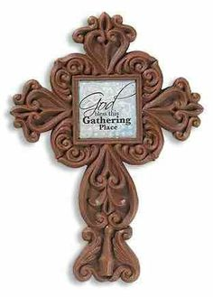"9"" High God Bless This Gathering Place Wall Cross Resin Lisa Engelhardt 2 Pcs  Gifts of Faith , http://www.amazon.com/dp/B006W0VWW2/ref=cm_sw_r_pi_dp_PUNDpb14V1Q05"