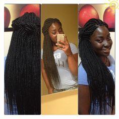 Queen J's Creations Braids - http://www.blackhairinformation.com/community/hairstyle-gallery/braids-twists/queen-js-creations-braids/ #braids #protectivestyilng