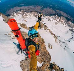 Photo of the Day! @matthiasgiraud has a big reason to smile after summiting…