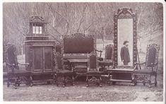 (14) FINN – Salongmøblement ca. 1915