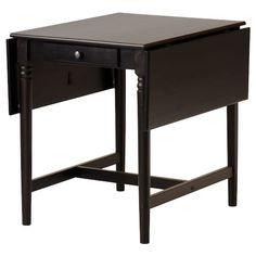 NORDEN Gateleg table - white - IKEA Ikea Drop Leaf Table, Ikea Dining Table, Dining Room Furniture, Furniture Ideas, Black Kitchens, Home Kitchens, Ikea Ingatorp, Norden Gateleg Table, Ikea Ps