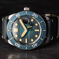 43mm of vintage inspired diving goodness . The Croft Automatic from Spinnaker watch…