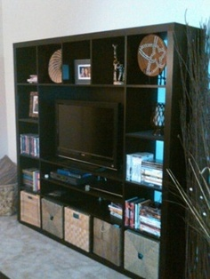 Ikea Expedit Tv Storage Unit For