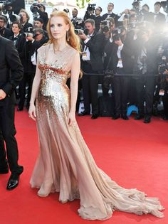 Goddess Gown - Jessica Chastain