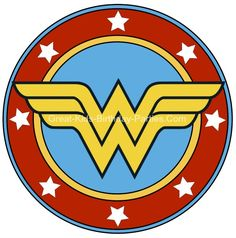 Printables Free Superhero Printables - Wonder Woman printable sticker, small and large sizes.Free Superhero Printables - Wonder Woman printable sticker, small and large sizes. Superhero Classroom, Superhero Birthday Party, Superhero Logos, Wonder Woman Party, Wonder Woman Logo, Wonder Woman Mask, Logo Super Heros, Hero Girl, Birthday Woman