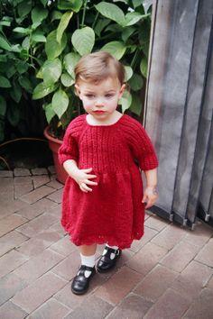Miss Muffet toddler dress