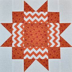 Day 66: Maple Star Quilt Block