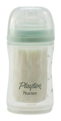 Amazon.com: Playtex Drop-Ins Premium Nurser Bottle, 4 Ounce, Colors May Vary: Baby