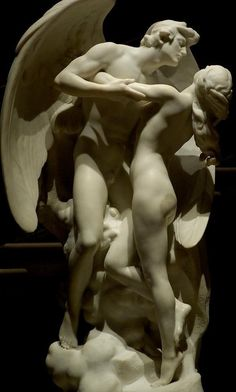 Daniel Chester French (1850-1931) - Immortal Love