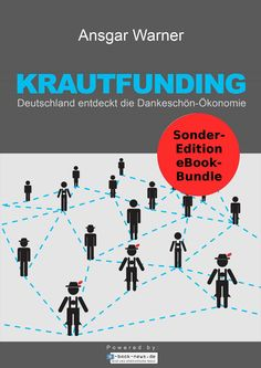 """Krautfunding"" von Ansgar Warner als Hambel Bandel-Sonderedition Kindle, New Press, Economics, New Books, Germany, Movie Posters, Herb, Searching, Grass"