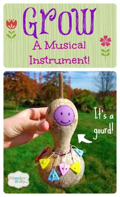 Daria shows us how to grow gourds and turn them into musical instruments like shekeres and guiros! Plant your seeds in the spring and you'll have your own home-grown instruments by the fall!
