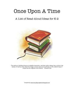 Once Upon a Time: A Reading List for K-2 - Everyday Snapshots