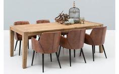 Eetkamerstoel baltazar bruin leer - 8131497-01 Dining Chairs, Dining Room, Dining Table, Scandinavian Interior, Sweet Home, New Homes, Vintage, Kitchen, House