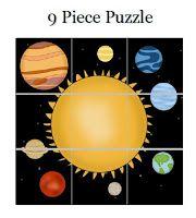 Nápady do školky: Kniha aktivit na téma Sluneční soustava