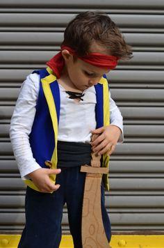 DIY Jake and The Never Land Pirates Costume | MarinoBambinos
