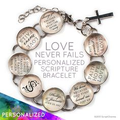 Love Never Fails  Personalized Love & Marriage by ScriptCharms