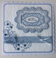 Sue Wilson main die with Tattered Lace Butterfly Magic with mag 20.