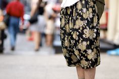 An Unknown Quantity | New York Fashion Street Style Blog by Wataru Bob Shimosato | ニューヨークストリートスナップ: Comme des Garcons