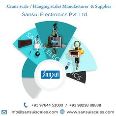 Sansui Electronics India largest Digital and Electronic weighing Scales Manufacturer and Supplier. As well as we provide Taximeter,crane scale and Weighbridge Crane, Jewelry Scale, Weighing Scale, India, Marketing, Electronics, Scale, Goa India, Virgos