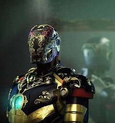 Robert Downey Jr. posted this steampunk Iron Man photo on Facebook.