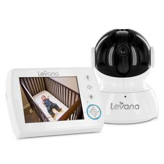 Levana - Astra PTZ Digital Baby Video Monitor with Talk to Baby Intercom in Baby, Baby Safety & Health, Baby Monitors Security Surveillance, Security Camera, Wireless Security, Intercom, Baby Health, Baby Monitor, Kids Store, Baby Safety, Home Security Systems