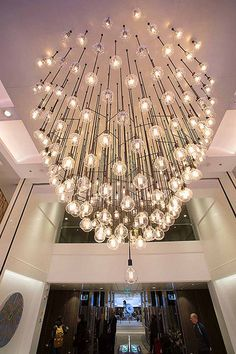Make sure to check out all artwork onboard Anthem of the Seas. This heartbeat chandelier actually flickers on beat with your pulse.