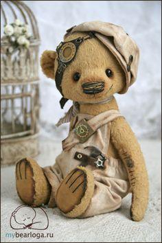 Cute teddy bear EVER. Steampunk brickie. We want them all.