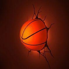 3D Wall Art Nightlight - Basketball : Target Mobile