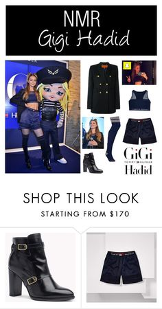 """""""Outfit #554"""" by nmr135 ❤ liked on Polyvore featuring Hilfiger, StreetStyle, tokyo, gigihadid, nmr and tommyxgigi"""