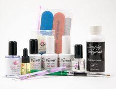 Elegant Glass Nails Artistry Kit #nailart #nails #nailproducts http://www.elegant-glass-nails.com/