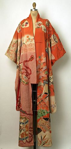 Kimono (Furisode)  Date: 20th century Culture: Japanese Medium: silk