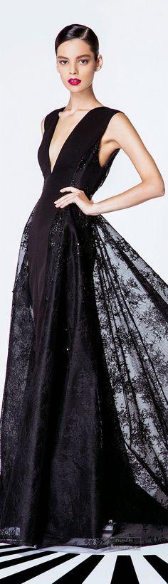 f56439fc3b  lt 3Timeless Style Classic Black lt 3    Georges Hobeika.SS 2015