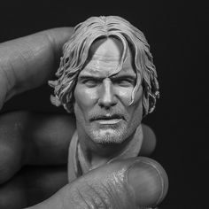 Oil Based Clay, Aragorn, Lee Jeffries, Lord Of The Rings, Sculpting, Statue, Anatomy, Image, Art