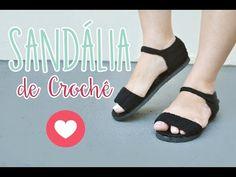 Passo a Passo de sandália  Mari Crochê - YouTube