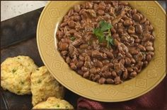 Sadler's Smokehouse Baked Beans with Beef Brisket